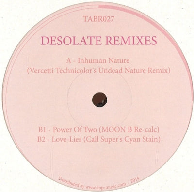 JOHN HECKLE - Desolate Remixes