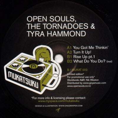 OPEN SOULS, THE TORNADOES & TYRA HAMMOND - The Opensouls EP