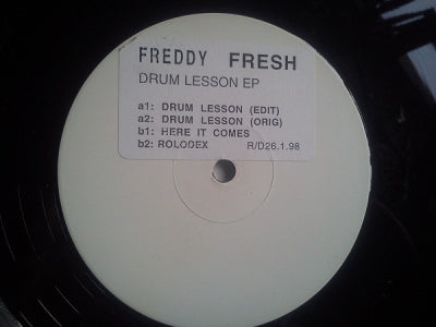 FREDDY FRESH - Drum Lesson
