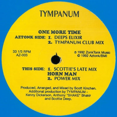 TYMPANUM - One More Time