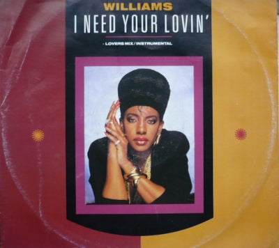 ALYSON WILLIAMS - I Need Your Lovin'