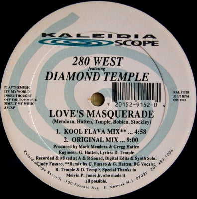 280 WEST FEATURING DIAMOND TEMPLE - Love's Masquerade