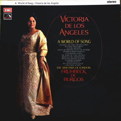 VICTORIA DE LOS ANGELES - A World Of Song