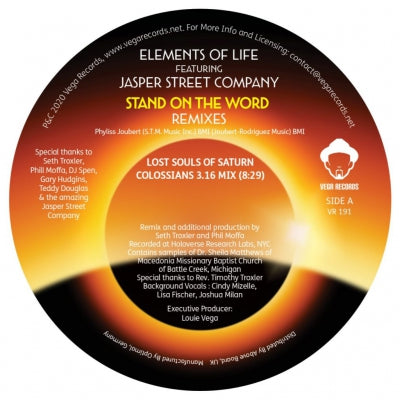 ELEMENTS OF LIFE FEATURING JASPER STREET COMPANY - Stand On The Word