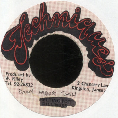 DONOVAN D. - Don't Mock Jah