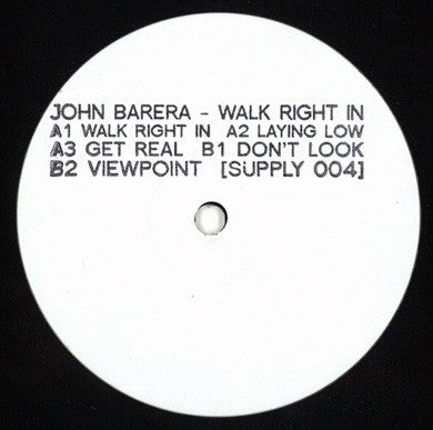 JOHN BARERA - Walk Right In