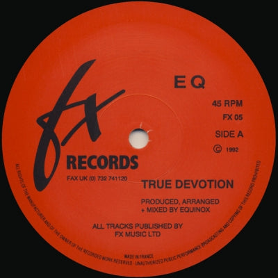 EQ - True Devotion / Ghetto Boys