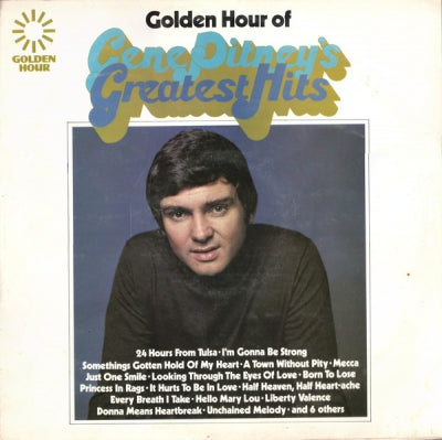 GENE PITNEY - Golden Hour Of Gene Pitney's Greatest Hits