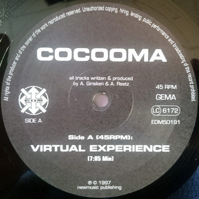 COCOOMA - Virtual Experience / Rage