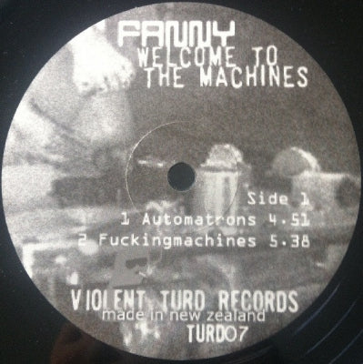 FANNY - Welcome To The Machines