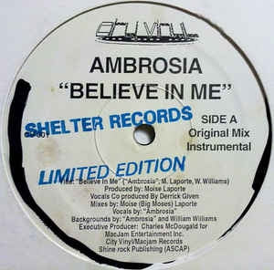 AMBROSIA - Believe In Me