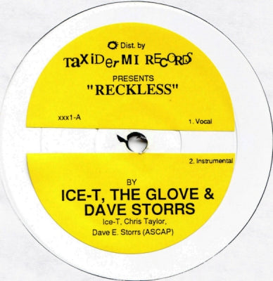 ICE-T THE GLOVE & DAVE STORRS  - Reckless / Tibetan Jam
