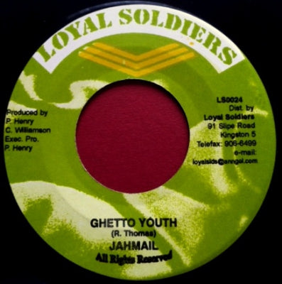 JAHMALI - Ghetto Youth