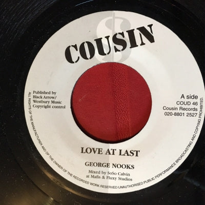 GEORGE NOOKS - Love At Last
