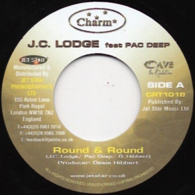 J.C. LODGE FEATURING PAC DEEP - Round & Round / Version