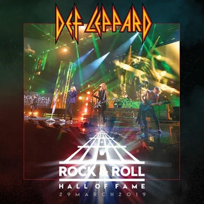 DEF LEPPARD - Rock & Roll Hall Of Fame - 29 March 2019