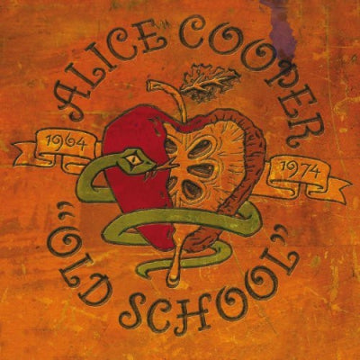 "ALICE COOPER - ""Old School"" 1964 - 1974 promo pack"