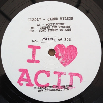 JARED WILSON - I Love Acid 017