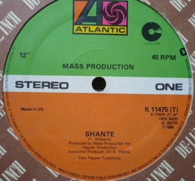 MASS PRODUCTION - Shante / Your Love