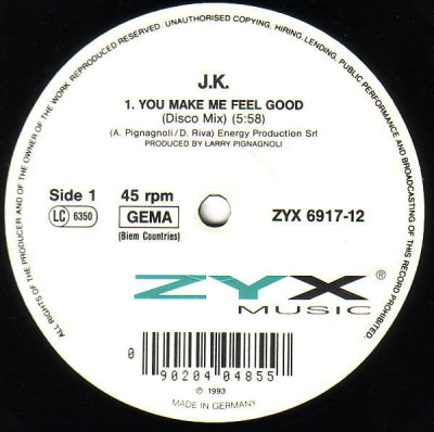 J.K. - You Make Me Feel Good
