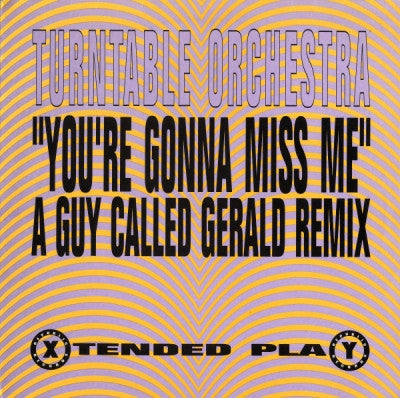 TURNTABLE ORCHESTRA - You're Gonna Miss Me
