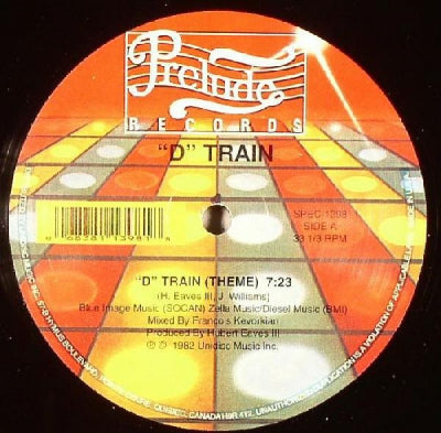 "D TRAIN - ""D"" Train Theme (Dub) / Tryin' To Get Over"