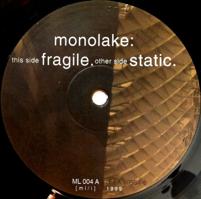 MONOLAKE - Fragile / Static