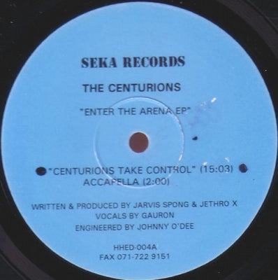 CENTURIONS - Enter The Arena EP