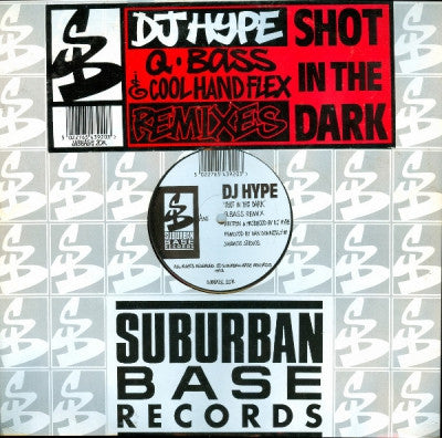 DJ HYPE - Shot In The Dark / Weird Energy (Remixes)