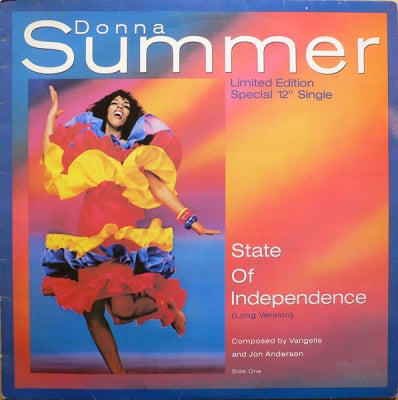 DONNA SUMMER - State Of Independence / Love Is Just A Breath Away