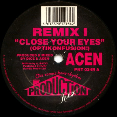 ACEN - Close Your Eyes (Remixes)