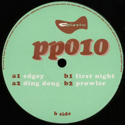 KAPE I'LL MIESTER - Edgey / Ding Dong / First Night / Prowler