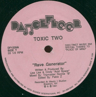 TOXIC TWO - Rave Generator / Acid Flash