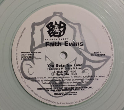 FAITH EVANS - You Gets No Love / Back To Love