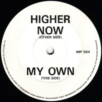 DJ SEDUCTION - Higher Now/My Own