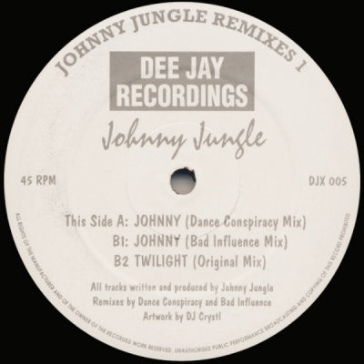 JOHNNY JUNGLE - Johnny Jungle Remixes 1