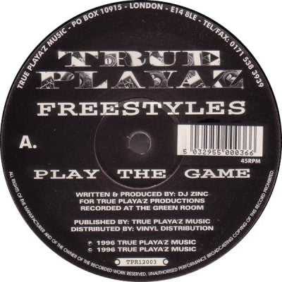 FREESTYLES - Play The Game / Learn From The Mistakes Of The Past