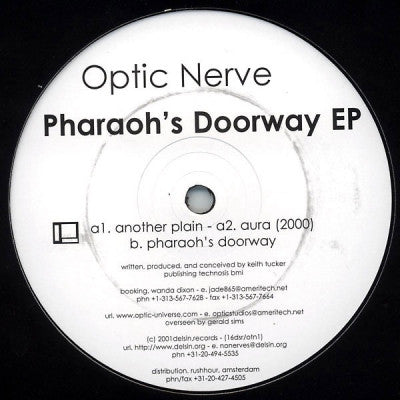 OPTIC NERVE - Pharaohs Doorway EP