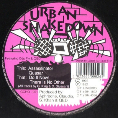 URBAN SHAKEDOWN - Do It Now! / There Is No Other Assassinator/ Quasar