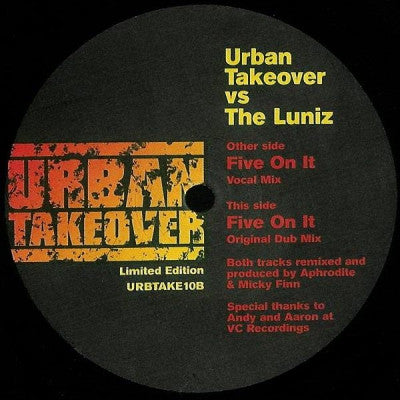 URBAN TAKEOVER VS THE LUNIZ - Five On It