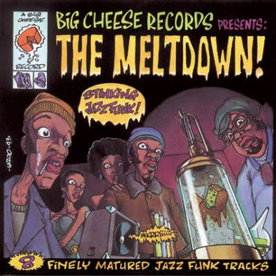 VARIOUS - The Meltdown! - 8 Finely Matured Jazz-Funk Tracks