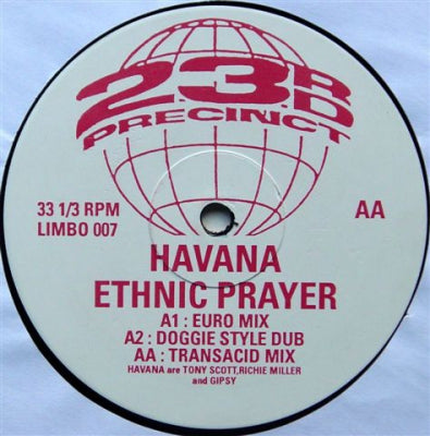 HAVANNA - Ethnic Prayer