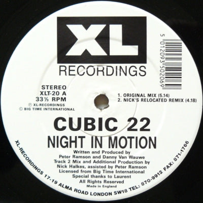 CUBIC 22 - Night In Motion