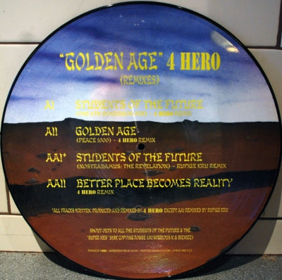 4 HERO - Golden Age (Remixes)