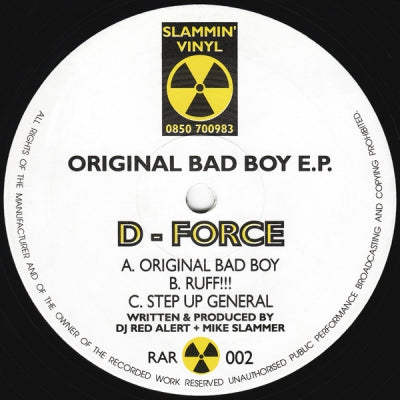D-FORCE - Original Bad Boy E.P.
