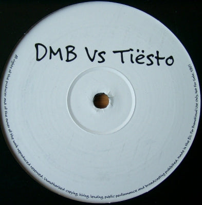 DMB VS TIESTO - Unknown