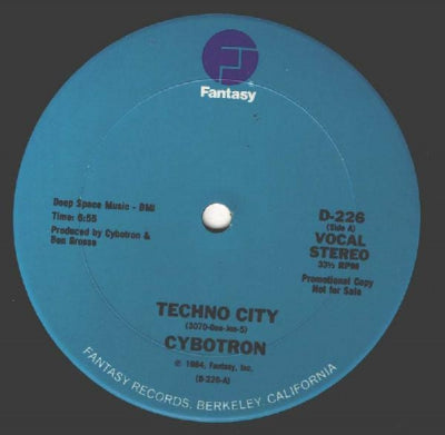 CYBOTRON - Techno City