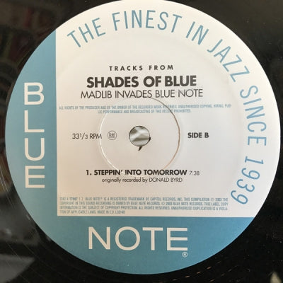 MADLIB - Tracks From Shades Of Blue - Madlib Invades Blue Note