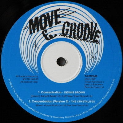 DENNIS BROWN / CRYSTALITES - Changing Times / Concentration