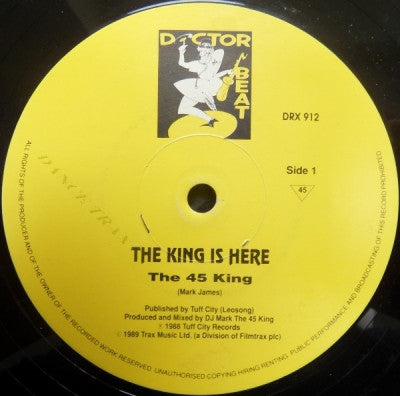 THE 45 KING - The 900 Number / The King Is Here